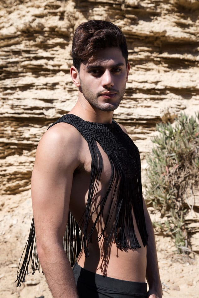 Men Fashion: Photography: Anael Achwartz, Styling: Katy Minevich, Model: Tal Moshe, Fashion: Israel Designers Guild, אנאל שוורץ, קטי מינביץ׳, טל משה, גילדת המעצבים דיזינגוף סנטר - 13
