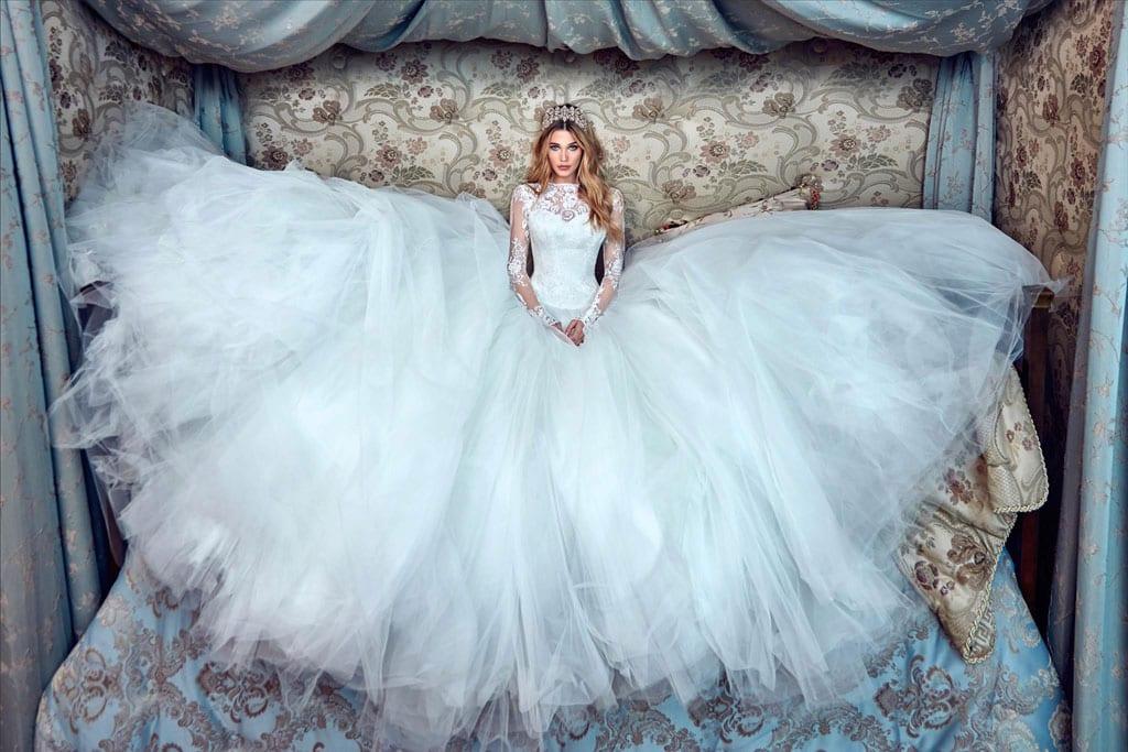 שמלת כלה של גליה להב. צילום: יחצ -1