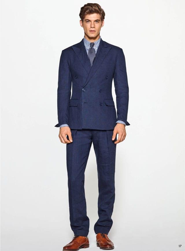 חליפה לגבר, prom, חליפת חתן, חליפה לגבר, חליפה לאירועים לגבר, חליפה כחולה, חליפה לנשף לגברים, פפיון לנשף פרום, חליפה לגבר בצבע כחול, efifo, אתר אופנה, חליפה כחולה לנשף פרום של ראלף לורן. ז׳קט: 3,650 שקל. מכנסיים: 1,050 שקל. צילום: יח״צ חו״ל