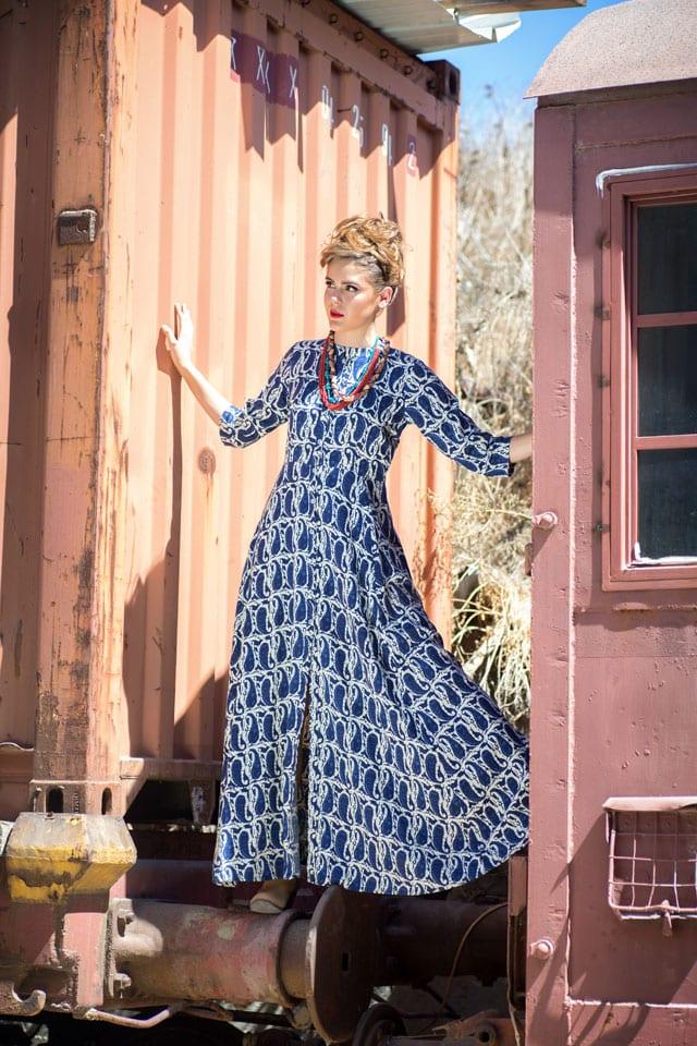 אופנה - רכבת ישראל. הפקה וצילום: ענת אורן. efifo, אופנה, מגזין אופנה - 10