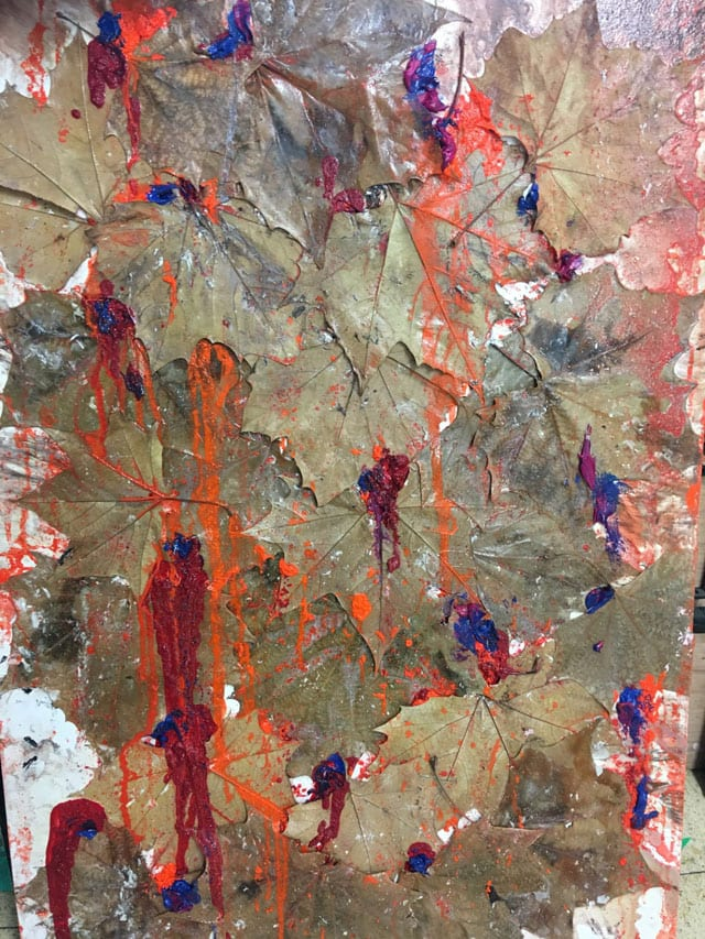 בתמונה: ציור של האמנית לאה צבעוני. צילום: יח״צ -2