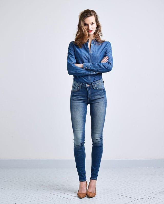 מגזין אופנה. קולקציית החורף של מותג הדנים Lee לנשים וגברים, סתיו חורף 2016-17-4