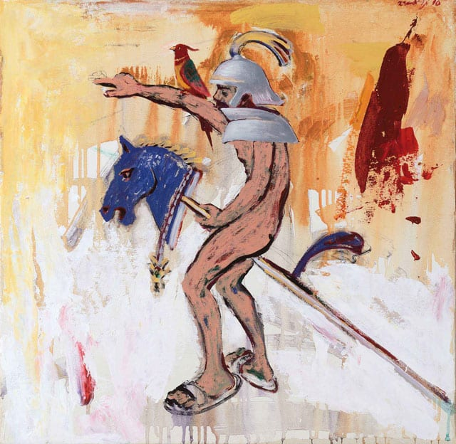 פרש נודד. אסד עזי 2015-2