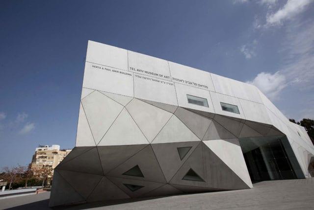 מוזיאון תל אביב לאמנות. צילום: סיון פרג'-1