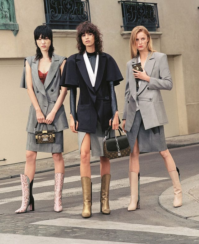 FHASHION MAGAZINE: SERIES 6-LOUIS VUITTON, WOMEN COLLECTION, SPRING-SUMMER 2017. PHOTOGRAPHER: BRUCE WEBER-5
