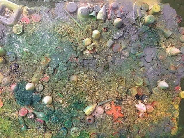 בתמונה: ציור של האמנית לאה צבעוני. צילום: יח״צ -