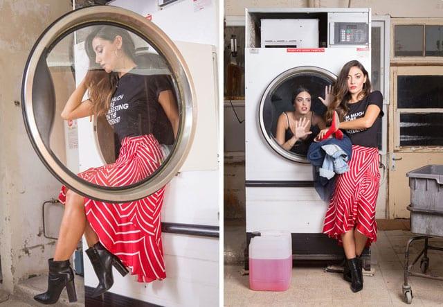 אופנה - ״שיק אורבני במכבסה קיבוצית״:הפקת אופנה של גואפו GUAPO - בית ספר למקצועות האופנה - 19