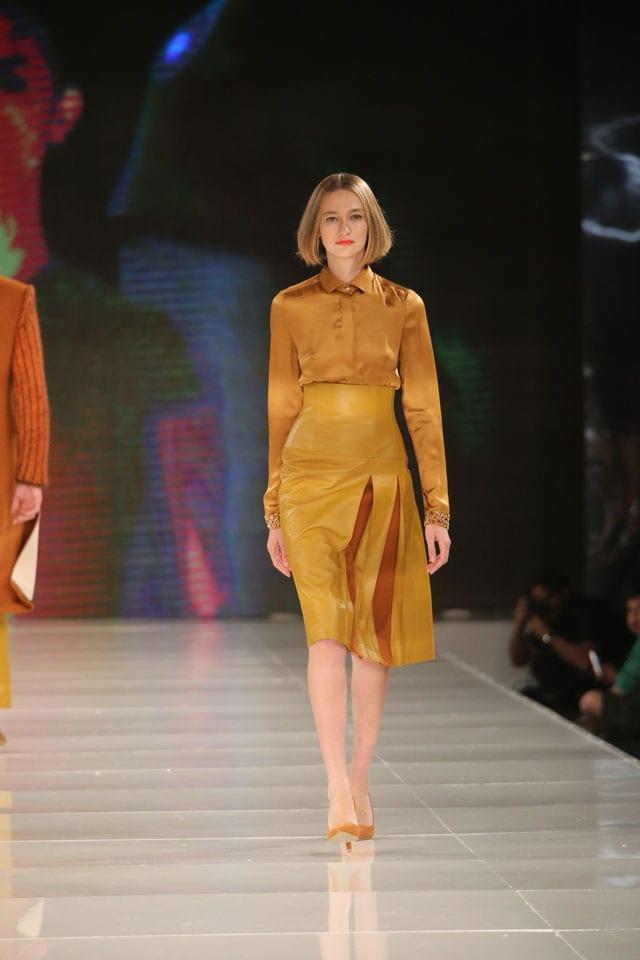 שי שלום, תצוגת האופנה לשבוע האופנה גינדי, סתיו חורף 2014. צילום: אבי ולדמן -1