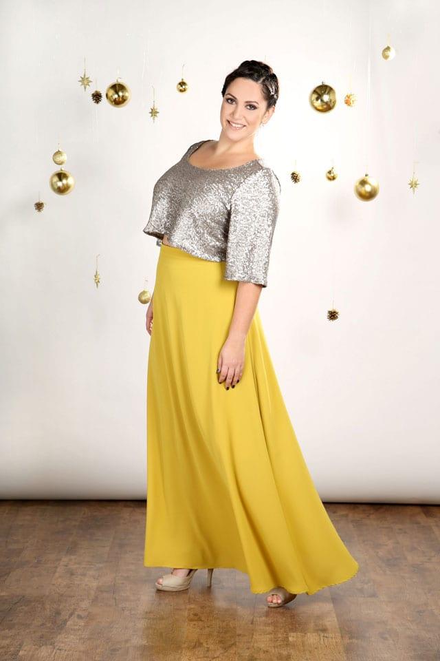 EFIFO. מגזין אופנה. טליה, שמלות במידות גדולות בסטייל נוצץ לסילבסטר-3