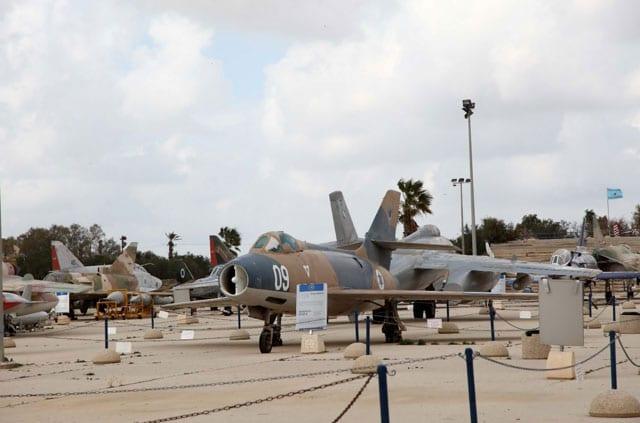 מוזיאון חיל האויר בחצרים. צילום: סיון פרג'-1