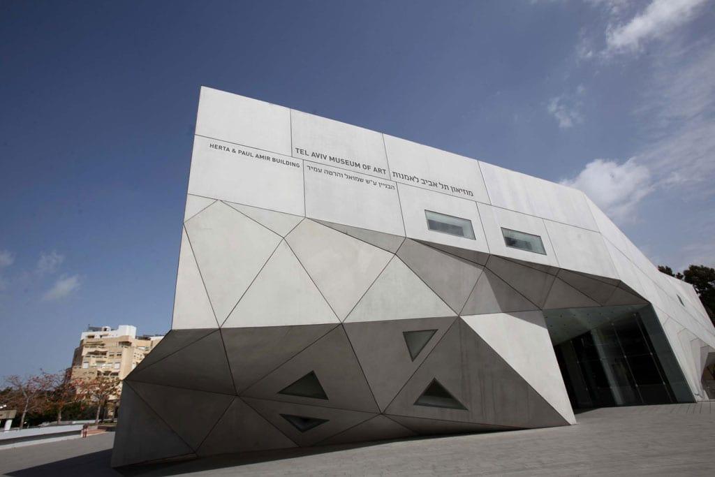 מוזיאון תל אביב לאמנות. צילום: סיון פרג'-1-9