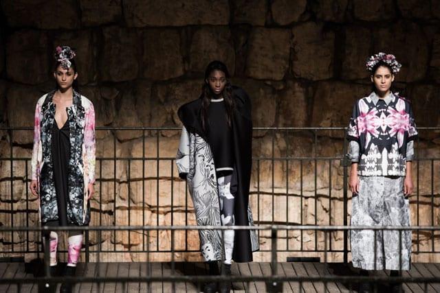תצוגת אופנה בצלאל. 201520
