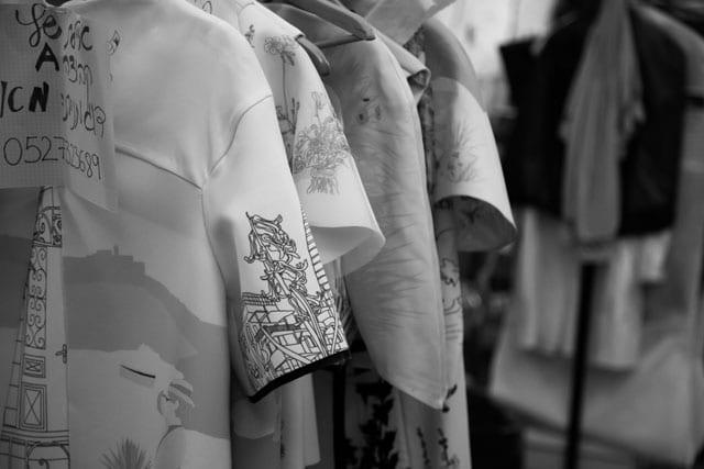 תצוגת אופנה בצלאל. 201516