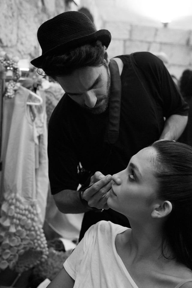 תצוגת אופנה בצלאל. 201506