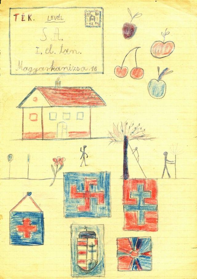 מוזיאון רמת גן: ציורי ילדות-2