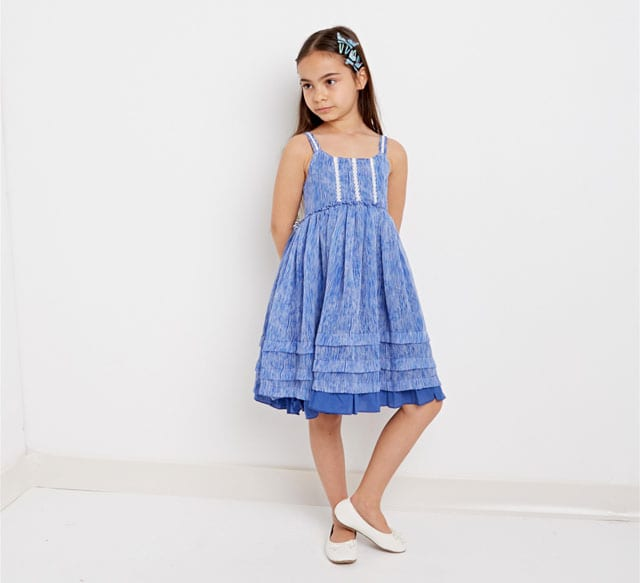 שמלה לילדות - סולוג -  טרנדים - סטייל - אופנת נשים - Fashion - אופנה ישראלית