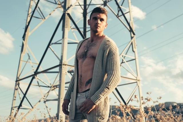 אופנה - נער השנה: צילום: דניס גרצקיס, איפור: נטלי לצ'ינסקי, דוגמן: רום לוי -6
