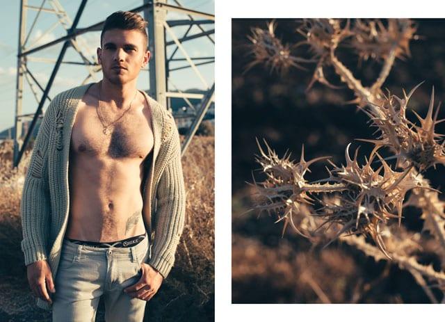 אופנה - נער השנה: צילום: דניס גרצקיס, איפור: נטלי לצ'ינסקי, דוגמן: רום לוי -2