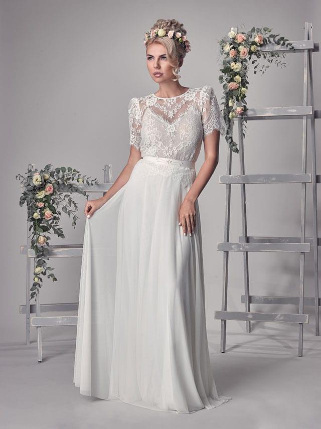 EFIFO אתר אופנה, שמלת כלה של סטודיו Anabell, החל מ-1212 שקל. צילום: יח״צ