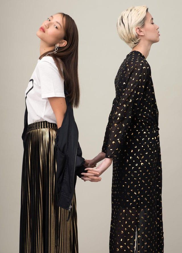 בצילום: שמלה של Belle&Sue, חצאית של Belle&Sue. צילום: גיא נחום לוי