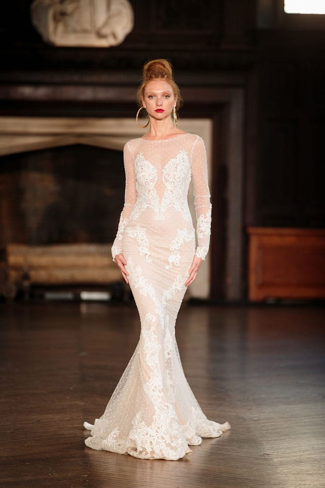 ברטה הציגה בשבוע האופנה לכלות בניו יורק את קולקציית 201735