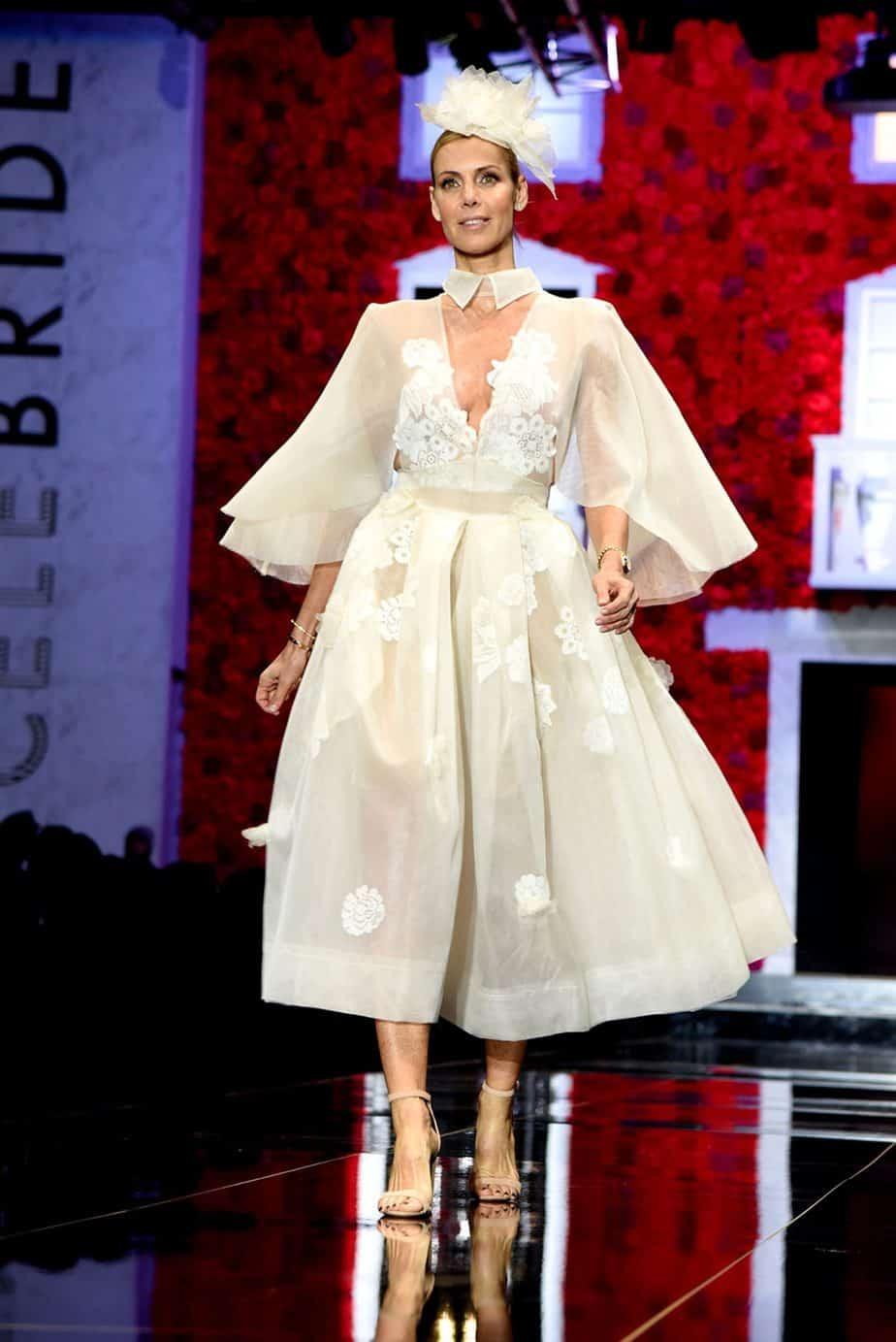 דנה וקסלר ספקטור. שמלת כלה - אור פז. צילום: לימור יערי