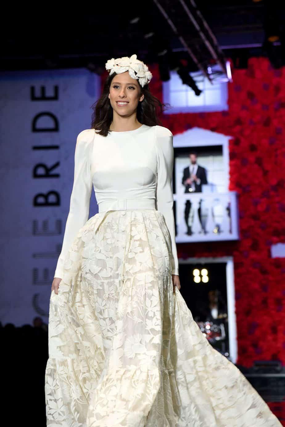 רומי ספקטור. שמלת כלה - ליהי הוד. צילום: לימור יערי