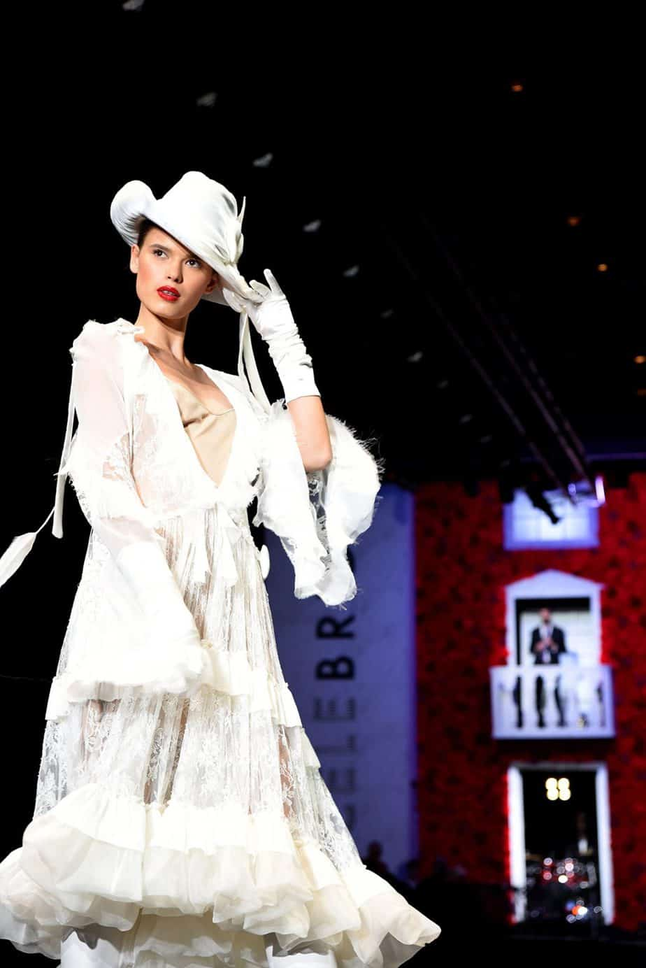 לנה אנטוניוק שמלת כלה - ויקטור (ויוי) בלאיש. צילום: לימור יערי