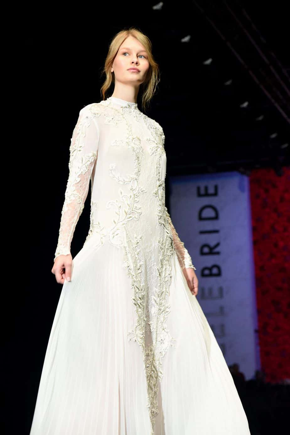 סופיה מצטנר. שמלת כלה - דנה הראל. צילום: לימור יערי