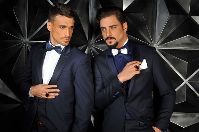 חליפות החתן של ליאור ודורין סגול 2015-1