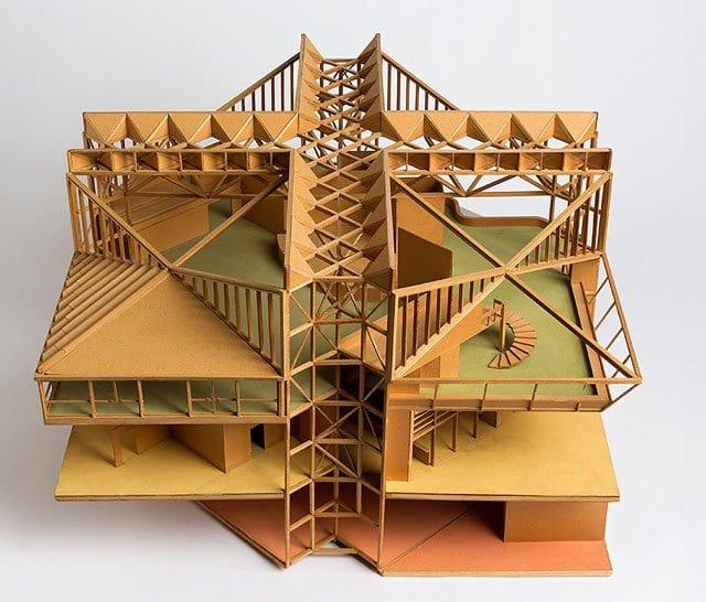 דוד ינאי: אדריכלות וגנטיקה. מוזיאול תל אביב לאמנות
