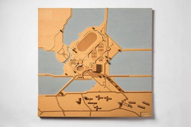 מוזיאון תל אביב: דוד ינאי התערוכה. אדריכלות וגנטיקה