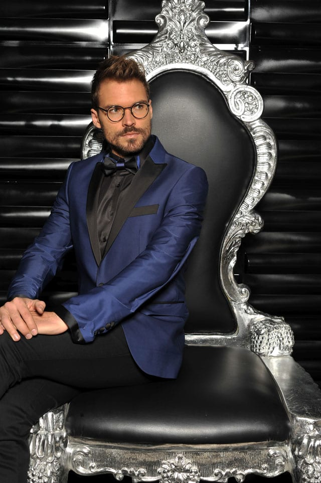 """כוכב """"אמזונס"""" אילן אוספליק בקמפיין אופנה ראשון למעצבת דורין סגול-2"""