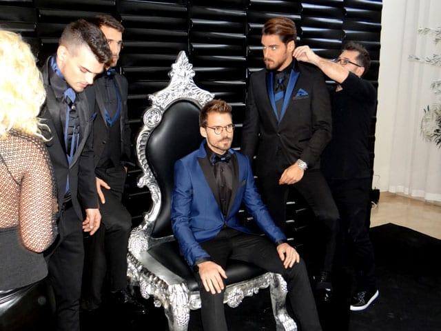 """כוכב """"אמזונס"""" אילן אוספליק בקמפיין אופנה ראשון למעצבת דורין סגול-19"""