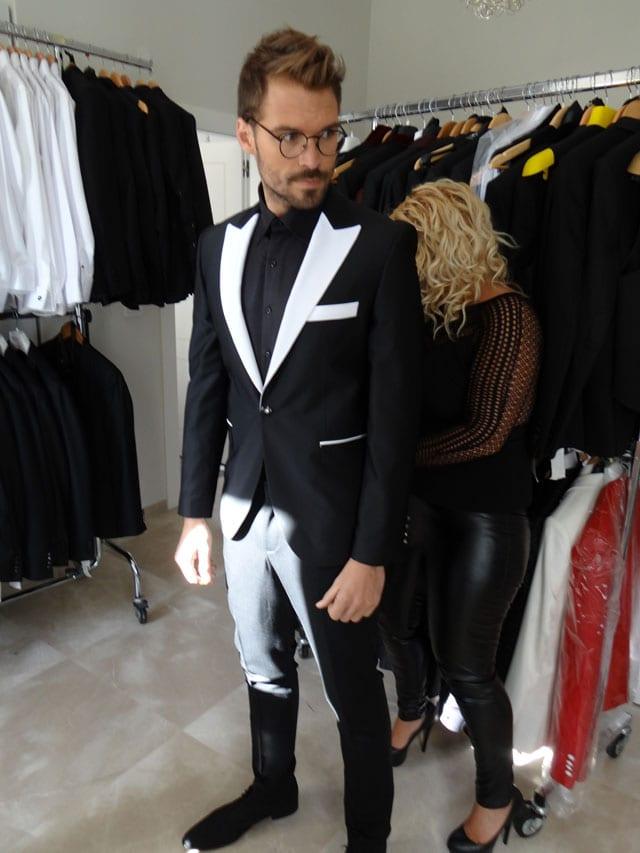 """כוכב """"אמזונס"""" אילן אוספליק בקמפיין אופנה ראשון למעצבת דורין סגול-17"""