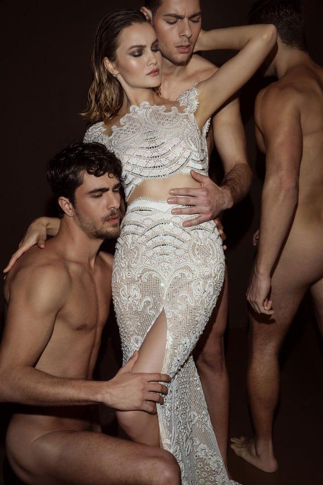 בצילום קמפיין אופנה פרובוקטיבי של דרור קונטנטו 2018. צילום: דביר כחלון-56
