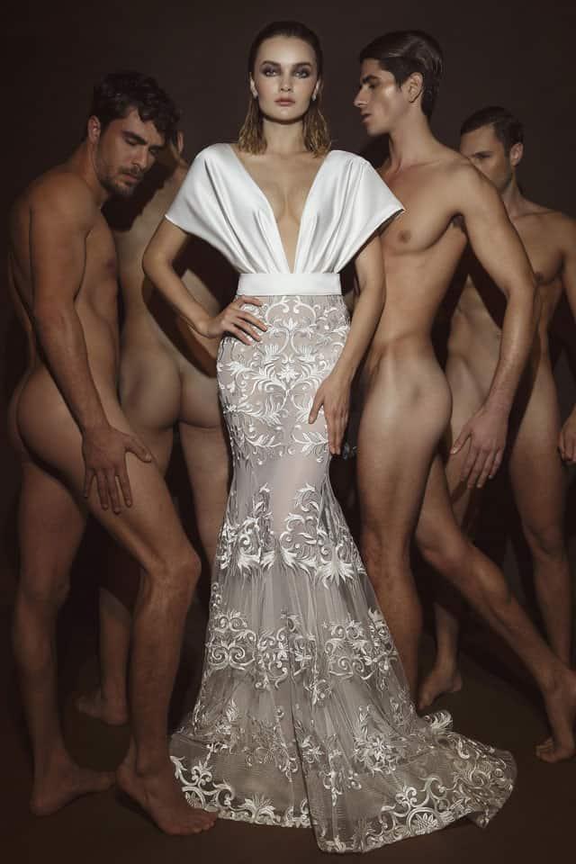 שמלה של דרור קונטנטו 2018. צילום: דביר כחלון