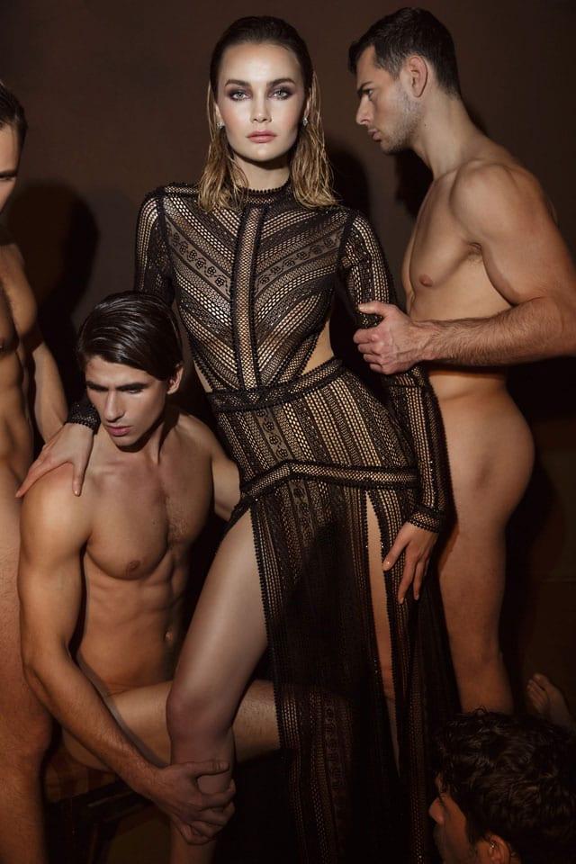 בצילום קמפיין אופנה פרובוקטיבי של דרור קונטנטו 2018. צילום: דביר כחלון-2
