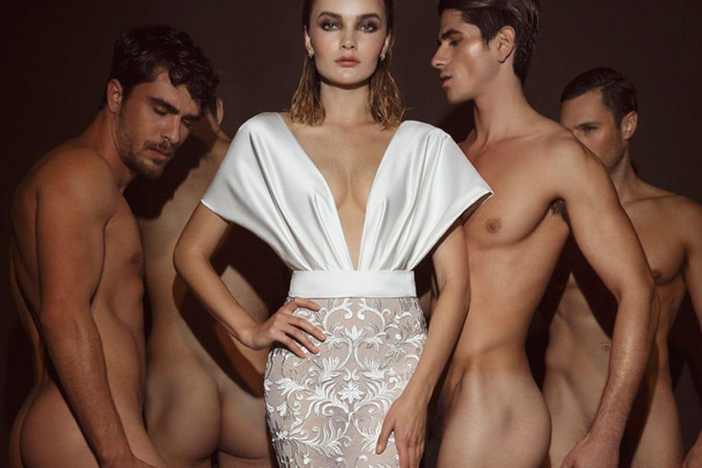 בצילום קמפיין אופנה פרובוקטיבי של דרור קונטנטו 2018. צילום: דביר כחלון-4