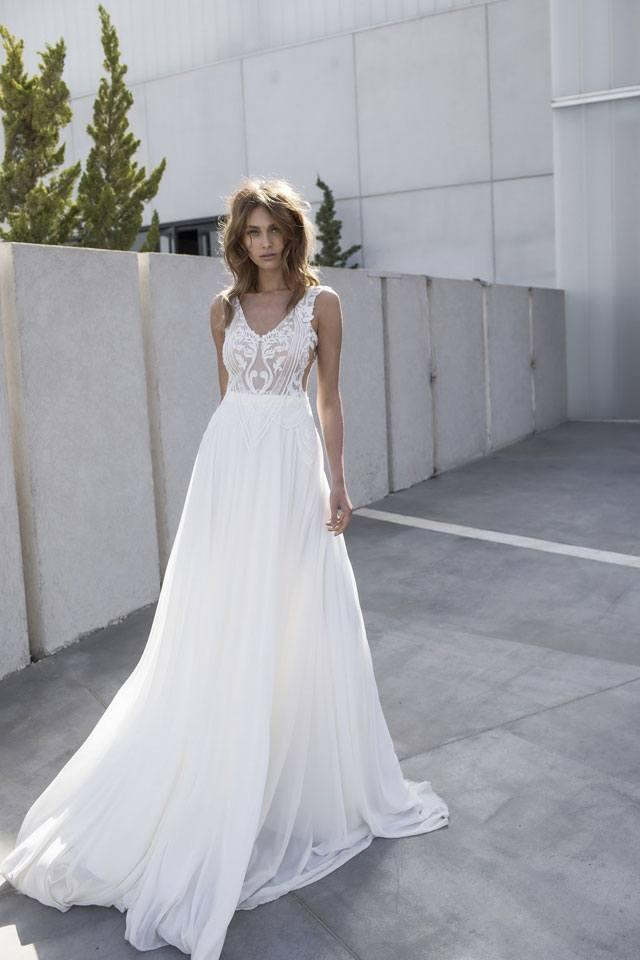 שמלת כלה: קולקצית שמלות כלה 2017 של המעצבת אליה וטין-14