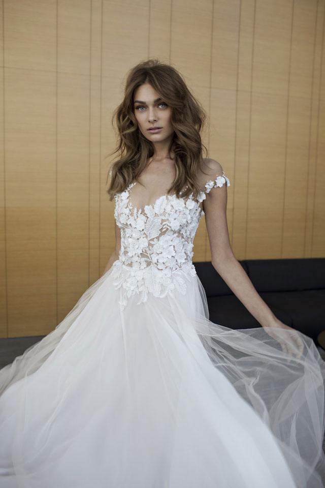 שמלת כלה: קולקצית שמלות כלה 2017 של המעצבת אליה וטין-9