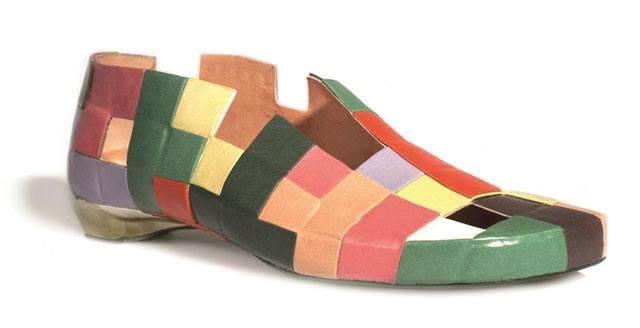 תערוכת נעליים אקדמיה בצלאל
