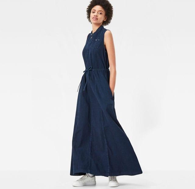 G STAR - שמלה - טרנדים - סטייל - אופנת נשים - Fashion - אופנה ישראלית