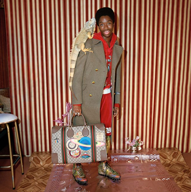 GUCCI PRE-FALL 2017 CAMPAIGN. Photo: Courtesy of Getty for Gucci-