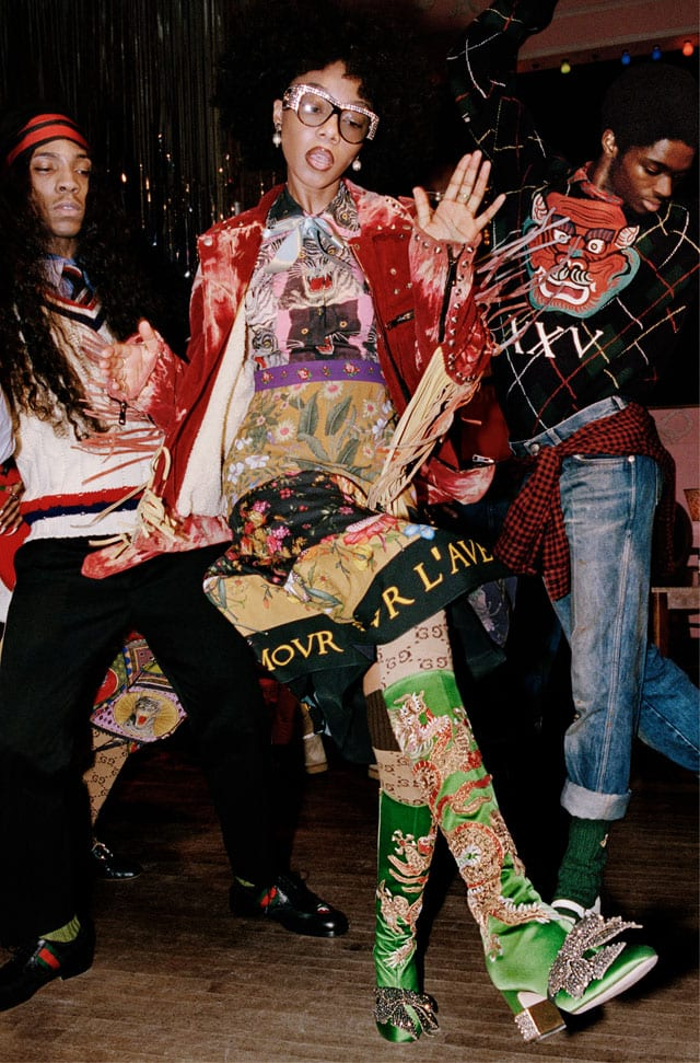 GUCCI PRE-FALL 2017 CAMPAIGN. Photo: Courtesy of Getty for Gucci-39