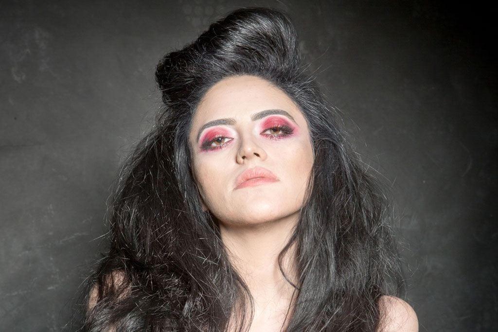 Valentine 2017: Studio Gavra+EFIFO. Course Guide:Eitan Tal. Photography and styling: Gabi Berger, Model: Tal Charnosvky, Makeup: Inbal Bokin Kanari, Hair Stylist: Péter Áron Ferenczi-15