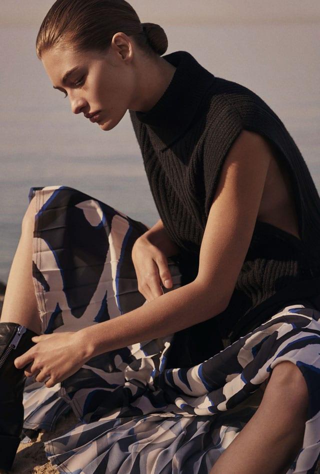גרייס אליזבת ל-H&M. צילום: הנס מוריץ