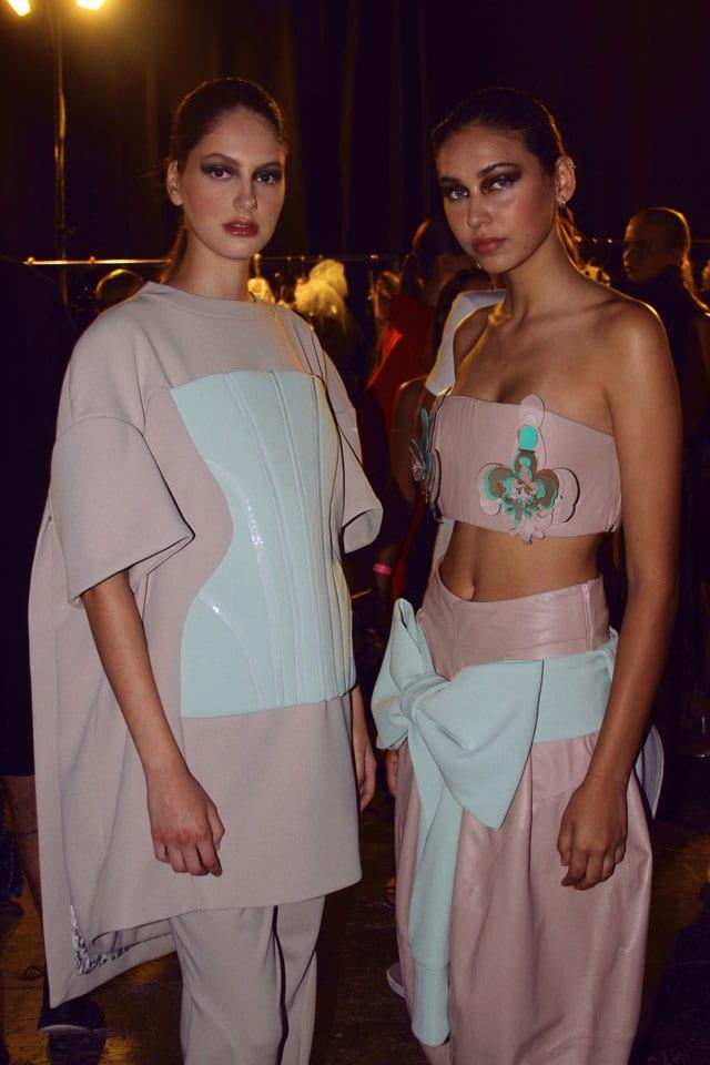 בתמונה: תצוגת אופנה של בוגר שנקר 2017. צילום: עומר רביבי - 14