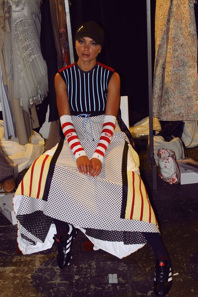 בתמונה: תצוגת אופנה של בוגר שנקר 2017. צילום: עומר רביבי - 12