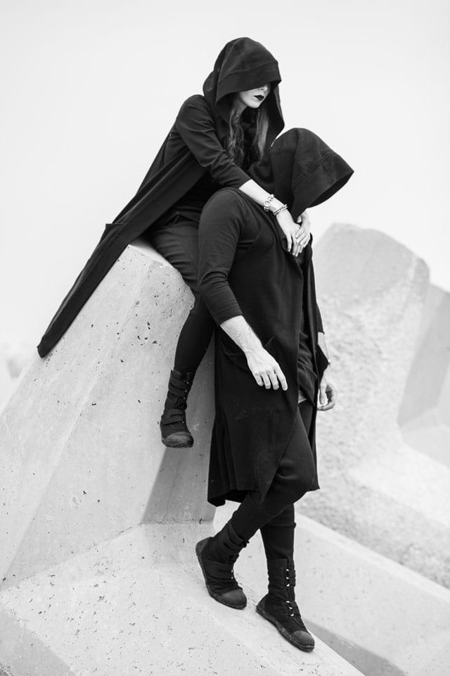 בצילום: קולקציית Black-L. של מעצבת האופנה לילך עוזי אהרוני. צילום: קרן שאוס-8